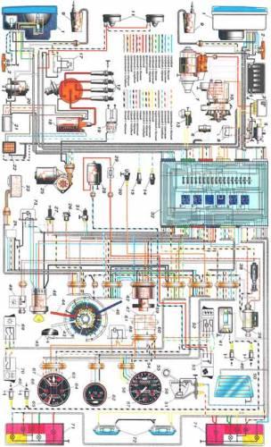 эл.схема вкл.отопителя ваз2110